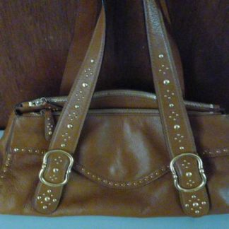 Michael Kors Caramel Brown Leather bag