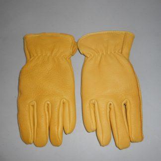 insulated deerskin work gloves