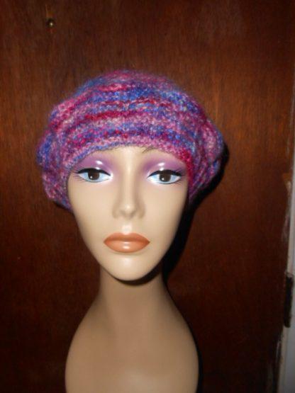 Slouchy Knit Artisan Beret Hat