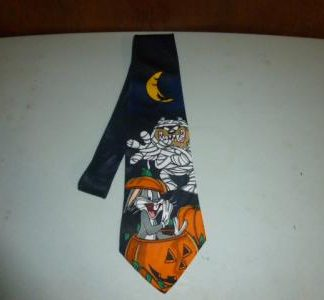 Halloween necktie Mummy Taz