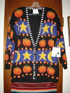 Halloween Cardigan Sweater