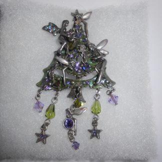Kirks Folly Christmas Tree Fairy Pin