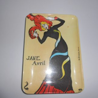 vintage jane avril small tray